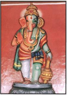 Aadiyantha Prabhu (Half Ganesha & Half Hanuman)