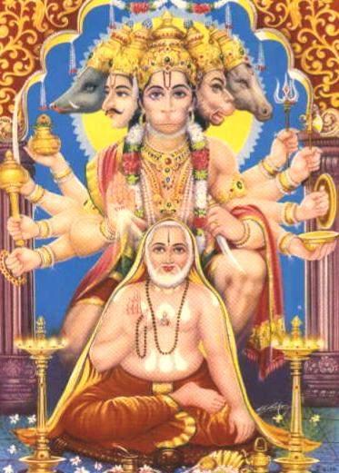 Panchamukhi Hanuman - Rare Picture