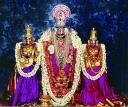 Lord Balaji with His consorts