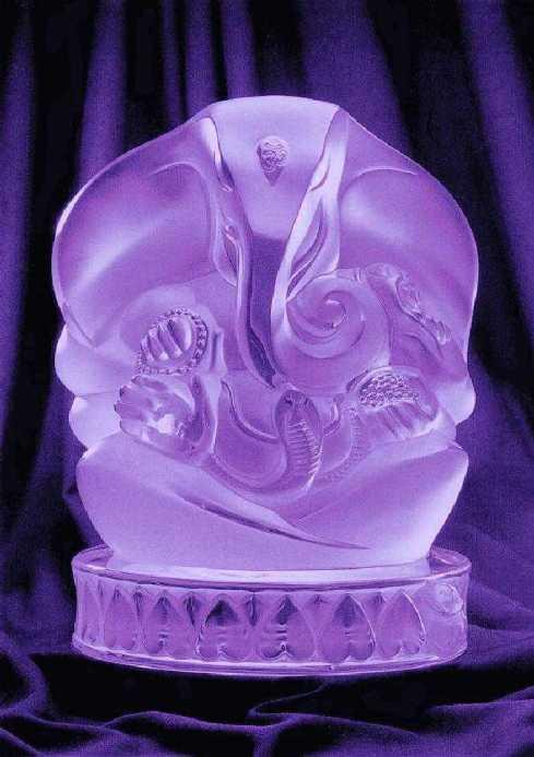 Crystal Ganesha