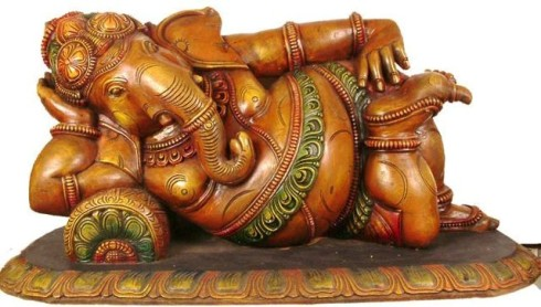 Lord Ganesh Reclining